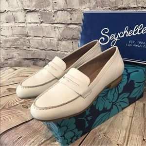 Seychelles Campaign Leather Penny Loafer Flats
